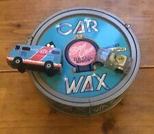 Micro Machines Secret Car Wax Shop. Galoob 1989. 2 Vehicles. Retro Toy