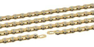 9-fach Kette Wippermann Connex 9SG 114 Glieder gold