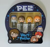 NEW Set of 4 Harry Potter Pez Limited Edition Candy Dispensers Metal Tin 2020