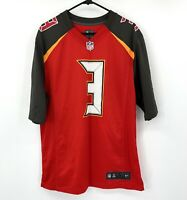 Nike Mens Tampa Bay Buccaneers Jameis Winston Red On Field Football Jersey NFL 3