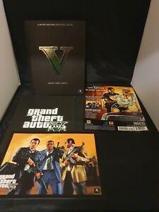 Grand Theft Auto V GTA 5 Limited Edition Hardback Strategy Guide Book RARE