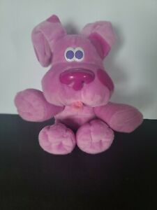 Blue's Clues Fisher Price Magic Moves Magenta Plush toy Claps