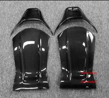 Carbon Fiber Seat Back Cover Trim Set 4pcs For Benz W205 A45 CLA45 GLA45 AMG C63