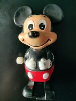 Mickey Mouse - Vintage 1970's Tomy Windup Walking
