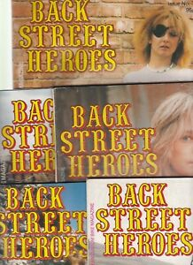 Various Issues of BACK STREET HEROES from February 1984 to December 2007