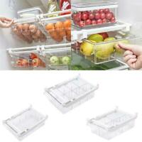 Clear Kitchen Food Storage Containers Refrigerator Freezer Box Case Organizer
