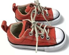 Converse Chuck Taylor All Star Low Top Little Kids Shoe Orange Size 5 persimmon