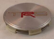 TRD Wheels Silver Custom Wheel Center Cap Caps (1) # PTR45-34071