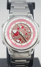 Casio LAW25D-4A Ladies Stainless Steel Active Dial Watch Led Stopwatch Alarm New