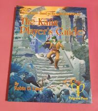 THE KAIIN PLAYERS GUIDE - DYING EARTH JACK VANCE RPG ROLEPLAYING ROBIN D LAWS