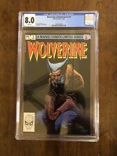 Wolverine Limited Series #3 CGC 8.0 W F/VF Miller Wolverine! Copy B. B@@yah!