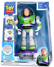 Buzz Lightyear iDance Music Player External MP3 Speaker Animated Toy Story Pixar
