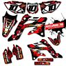 2013 2014 2015 2016 2017 HONDA CRF 125 F GRAPHICS KIT ISLAND STRIKE : RED