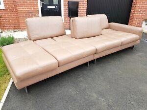 *Luxury Designer Maxdivani BOSS 0309  Leather Sofa Suite Excellent condition !