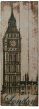 London Street Wooden Decorative Plaques & Signs