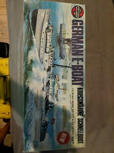 Airfix German E-Boat Kriegsmarine Schnellboot 1/72 scale model kit