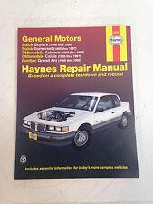 Haynes General Motors GM Buick Oldsmobile Olds Pontiac Repair Manuel 38025