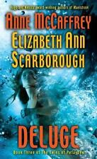 Deluge: Book Three of The Twins of Petaybee McCaffrey, Anne NEW Hardcover Book