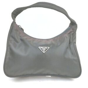 Prada Hand Bag  Black Nylon 2000097