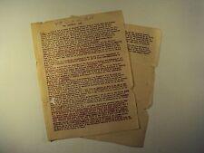 Unbelievable Jesuitical Oath / Jesuit / Society of Jesus / Catholic / Antique