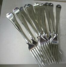 Silver Plate Clark Sawyer Co. Forks (Twelve)