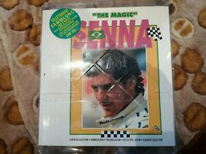 PMC 1995 THE MAGIG OF SENNA F1 SEALED CARD COLLECTION AND ALBUM - MINT