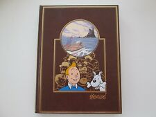 TINTIN VOLUME 4 ROMBALDI EO AVRIL 1985 TTBE ILE NOIRE H22 EDITION ORIGINALE