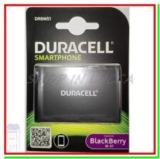 Batteria Ricaricabile DURACELL DRBMS1 = BLACKBERRY M-S1 x Curve 8980 Bold 9780