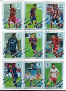 2020/21 Topps Chrome UEFA Champions Silver Refractor Pick Card Complete Your Set