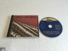 Was (Not Was)  ST  V RARE 1981 GERMAN PRESS BLUE FONTANA CD 842 683-2 NM/MINT