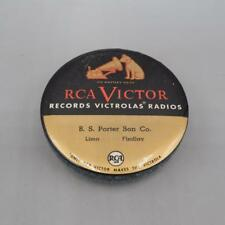 Vintage RCA Victor His Master's Voice Celluloid Record Brush Cleaner Duster