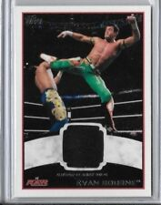 2012 Topps WWE Raw Evan Bourne Authentic Event Worn Shirt Relic Card Black