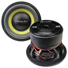 "American Bass GF-1811Godfather 18"" 400oz Magnet 4""Dual Voice Coil 1ohm Subwoofer"