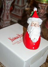 Neiman Marcus 1998 Christmas Catalog Cover Art Santa Ornament By Department 56