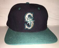 Vtg Seattle Mariners STARTER hat cap rare 90s Flexfit Starfit MLB Baseball og