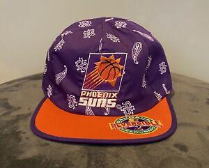 Pheonix Suns Vintage Reversible Starter Bandana Hat VTG NBA Devin Booker Cp3