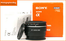 Sony DT 50mm F1.8 SAM Autofocus prime  Lens A Mount  + Free UK Postage