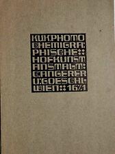 Large Original Jugendstil Brochure from Vienna Erwin Puchinger Graphic Design