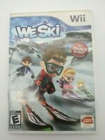 We Ski Nintendo Wii 2008 Tested And Works No Manual