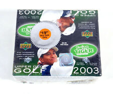 2003 Upper Deck Golf Retail Box Sealed (24 Packs)