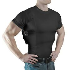 NEW ConcealmentClothes Men's Crew Neck Undercover- Concealed Carry Holster Shirt