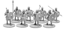 V&V Miniatures The Anglo-Saxons Ceorls 4 Warband Angelsachsen Sachsen Speer