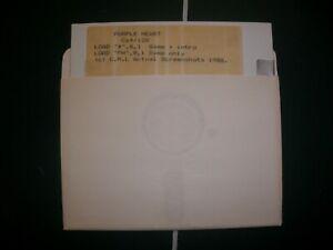 Commodore C64 Purple Heart Disk