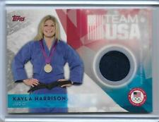 AWESOME 2016 TOPPS OLYMPIC KAYLA HARRISON RELIC CARD ~ USA JUDO GOLD MEDAL ~ UFC