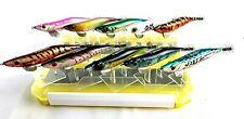 Gan Craft Egi  3.5 UO-Jya x 10 calamari squid jigs w/evergreen egi box as pics