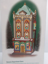 Dept 56-Christmas in the City Series-Seasons Department Store-59201-RETIRED-NEW