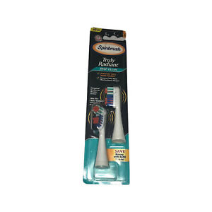 Arm & Hammer Spinbrush Truly Radiant Deep Clean 2 Replacement Brush Heads Soft