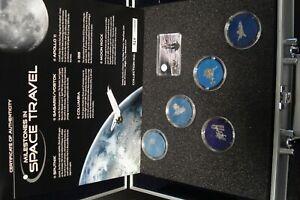 2009 Malawi 5 x 50 Kwacha  Milestones In Space Niobium NIOB