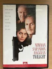 PAUL NEWMAN GENE HACKMAN Twilight ~1997 Mystery Thriller États-Unis RÉGION 1 DVD