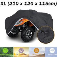 Size XL Waterproof ATV 4 Wheeler Cover Storage for Honda Suzuki Kawasaki Yamaha